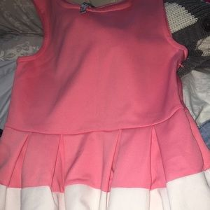 Size 10 Pink and White Beautees Dress